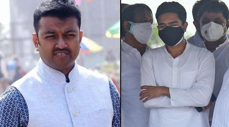 Abhishek Banerjee visits Appollo hospital to see Mukul Roy's wife | Sangbad Pratidin