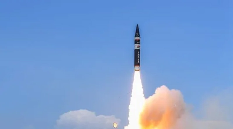 India successfully test-fires Agni Prime, a new missile in Agni series | Sangbad Pratidin
