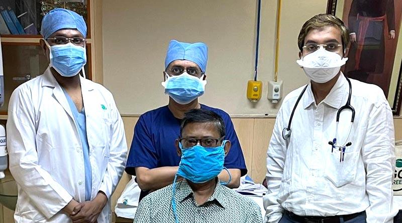 Apollo Doctors cured Covid positive Man who suffered brain stroke | Sangbad Pratidin