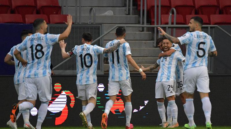 Copa America: Leo Messi's Argentina seals Copa knockout place | Sangbad Pratidin