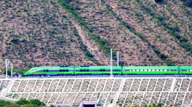 China Launches First Bullet Train In Tibet, Close To Arunachal Border | Sangbad Pratidin
