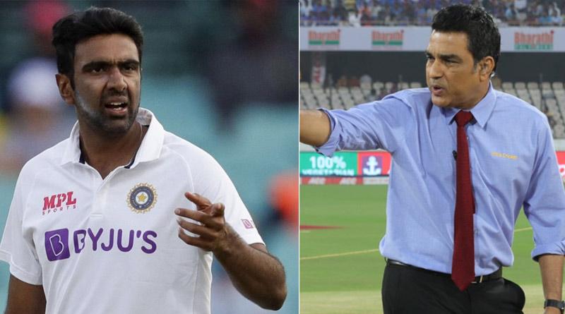 R Ashwin reacts to Sanjay Manjrekar's 'not an all-time great' theory | Sangbad Pratidin