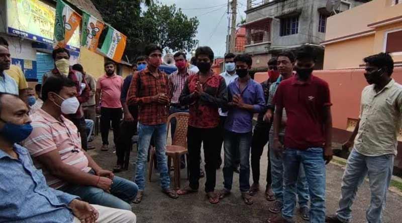Some BJP worker join TMC in Bolpur ।Sangbad Pratidin