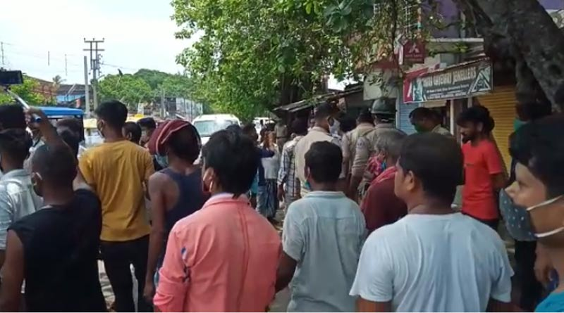 Bombing at Bhatpara, one BJP worker died | Sangbad Pratidin