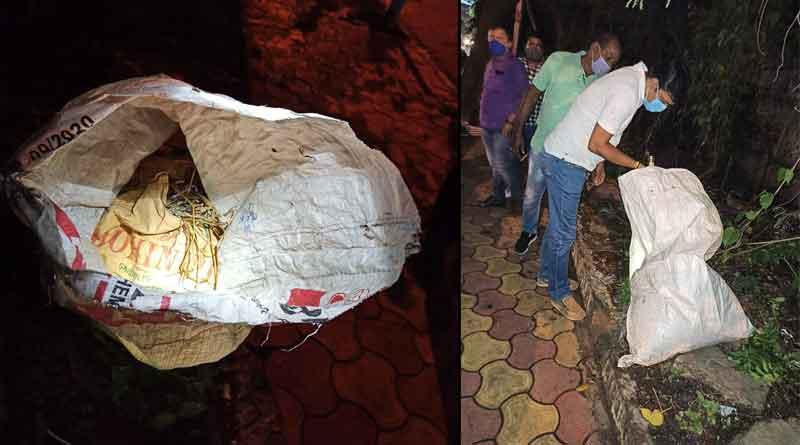 Crude bomb recovers near BJP's Hastings office । Sangbad Pratidin