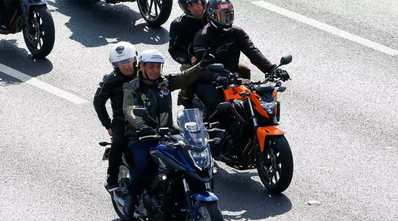 Brazil's Bolsonaro fined for maskless motorcyle Rally । Sangbad Pratidin