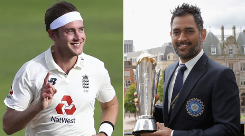 Stuart Broad reacts with cryptic comment as ICC pays tribute to former India captain MS Dhoni | Sangbad Pratidin