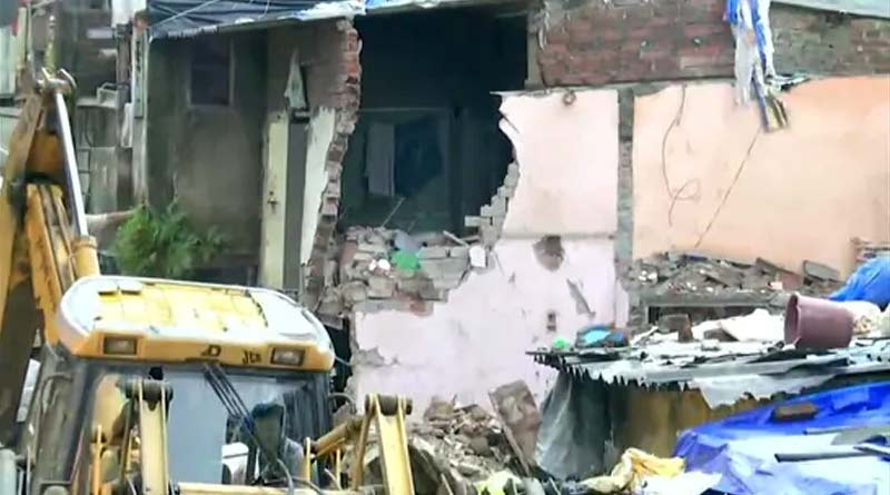 Four-storey building in Malvani area of Mumbai collapsed ।Sangbad Pratidin