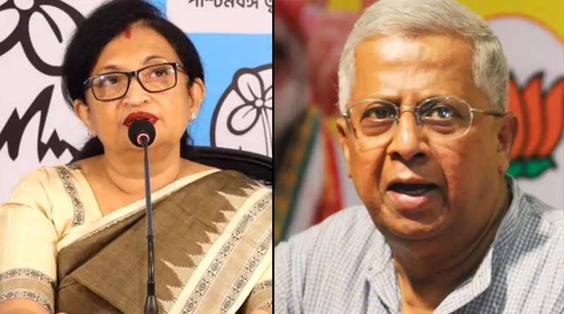 BJP leader Tathagata Roy wants email Id or whatsapp number from Chandrima Bhattacharya ।Sangbad Pratidin