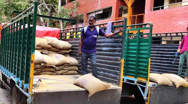 Centre Blocks Delhi's Ration Home Delivery, Says AAP Government | Sangbad Pratidin