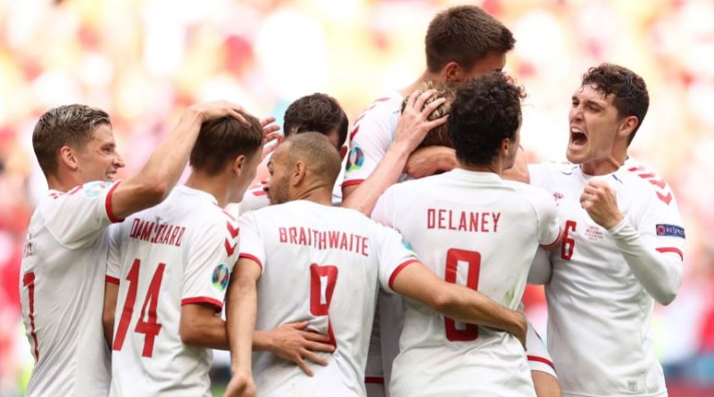 Euro Cup 2020: Denmark demolished Wales and through to the quarter Final | Sangbad Pratidin