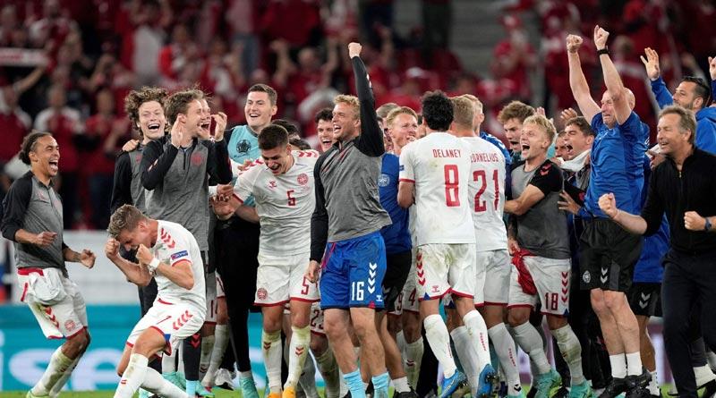 Denmark made it through to the last 16 of Euro 2020 on Monday | Sangbad Pratidin