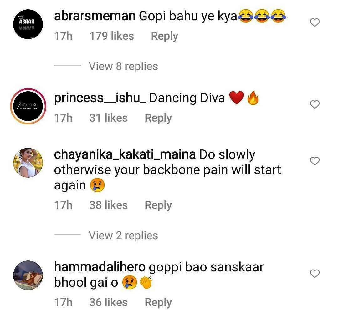 Devoleena Bhattacharjee Instagram post