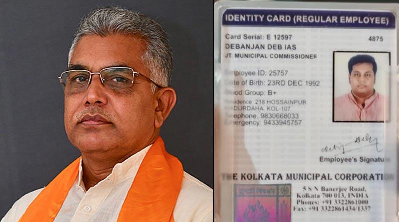 BJP state president Dilip Ghosh slams state government over fake corona vaccination centre। Sangbad Pratidin