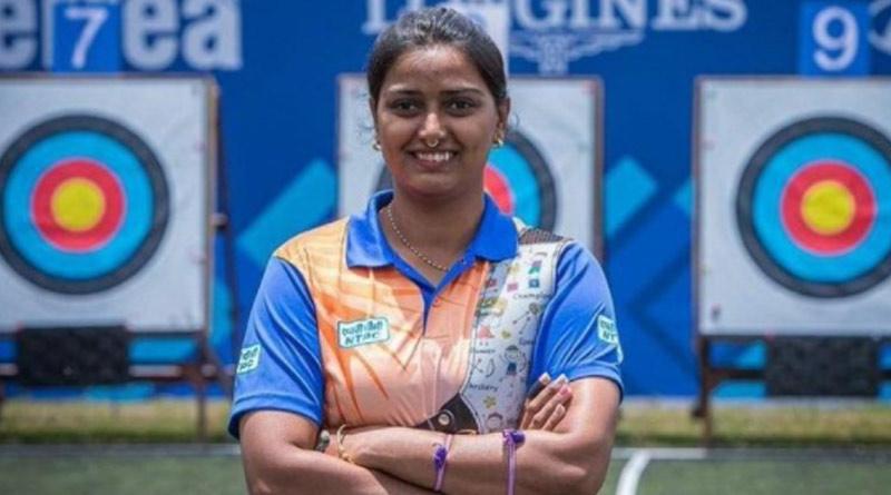 Gold medal hat-trick for Deepika Kumari at Paris Archery World Cup | Sangbad Pratidin