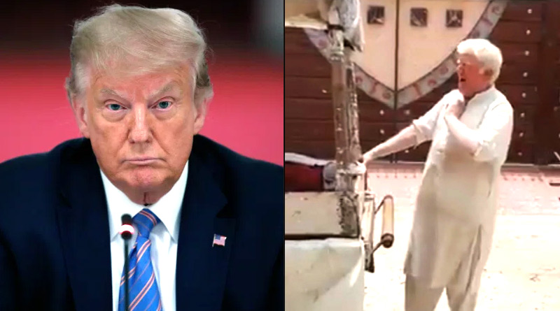Donald Trump's lookalike selling kulfi in Pakistan with soulful baritone | Sangbad Pratidin