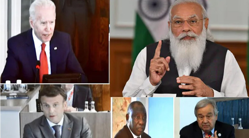 One earth, one health, PM Modi's mantra to the G-7 nations | Sangbad Pratidin