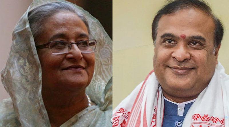 Assam CM Himanta Biswa Sarma thanks Bangladesh PM Sheikh Hasina | Sangbad Pratidin