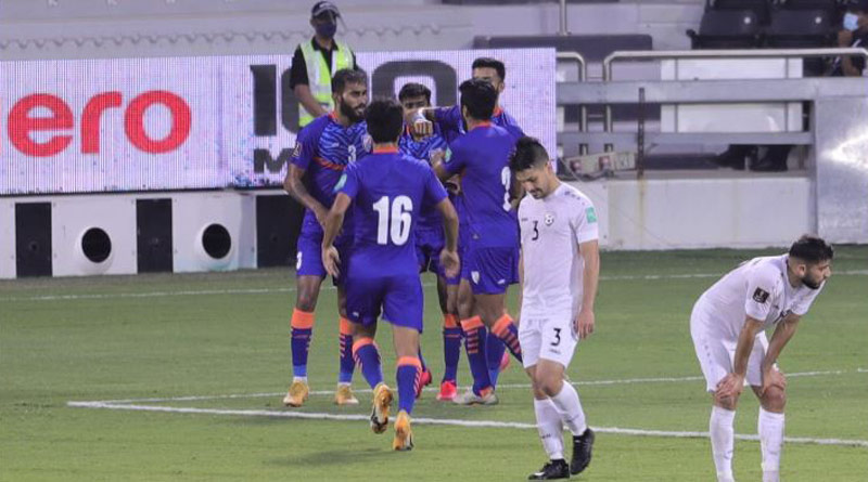 India through to the AFC Asian Cup 3rd round by drawn with Afghanistan in World Cup qualifier । Sangbad Pratidin