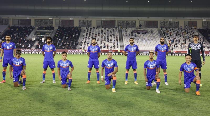 FIFA World Cup 2022 Qualifiers: Quatar beats India by lone goal | Sangbad Pratidin