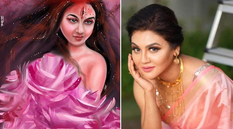 Jaya Ahsan trolled for sharing fan art on Facebook | Sangbad Pratidin