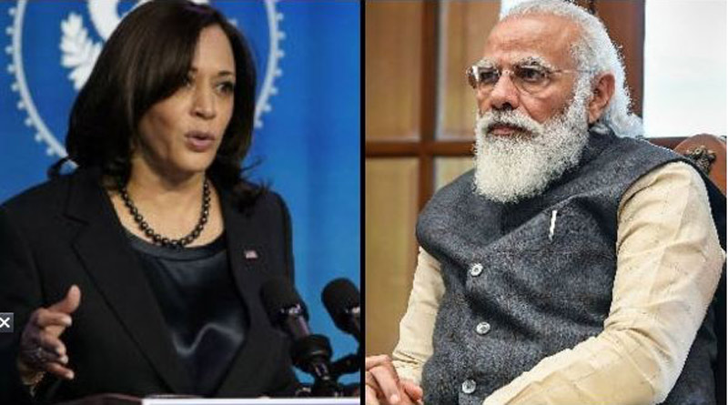 US Vice President Kamala Harris Dials PM Modi, Covid Vaccines Discussed | Sangbad Pratidin