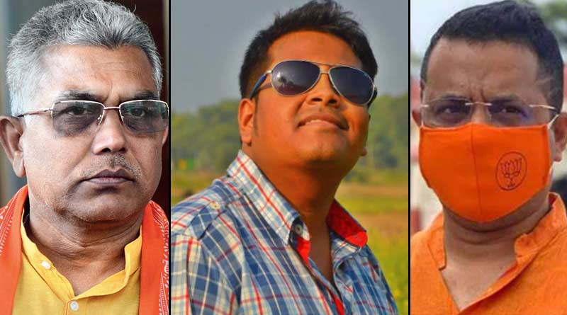 BJP leader Dilip Ghosh and Saumitra Khan slams TMC over Kasba fake vaccination issue ।Sangbad Pratidin