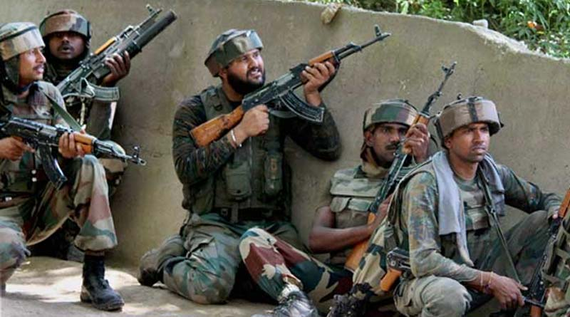 Security forces kill 17 terrorists within two weeks in Jammu and Kashmir | Sangbad Pratidin