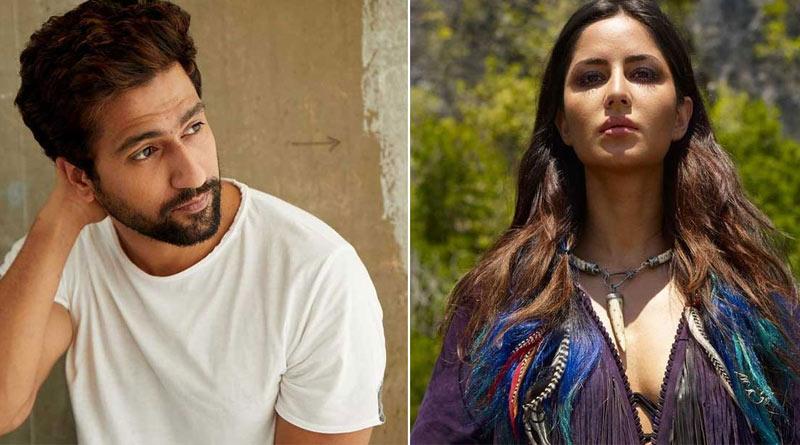 Bollywood Actor Vicky Kaushal at Katrina Kaif building | Sangbad Pratidin