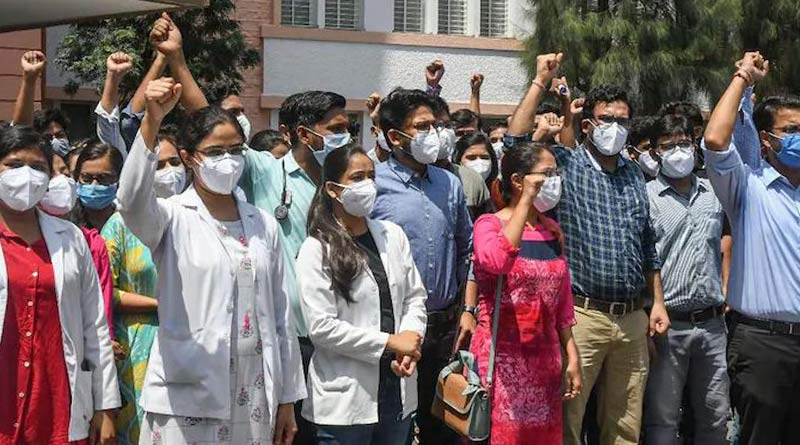 3,000 junior doctors resign in Madhya Pradesh after HC says strike 'illegal'   Sangbad Pratidin