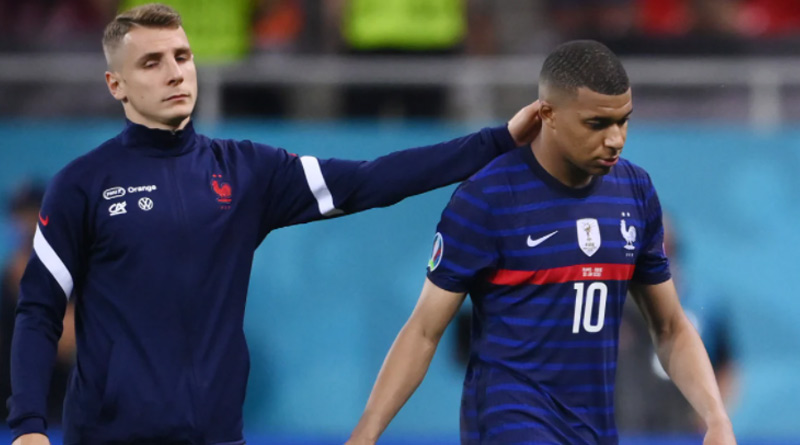 Heartbroken Kylian Mbappe issues apology after penalty miss cost France Euro 2020 progression | Sangbad Pratidin