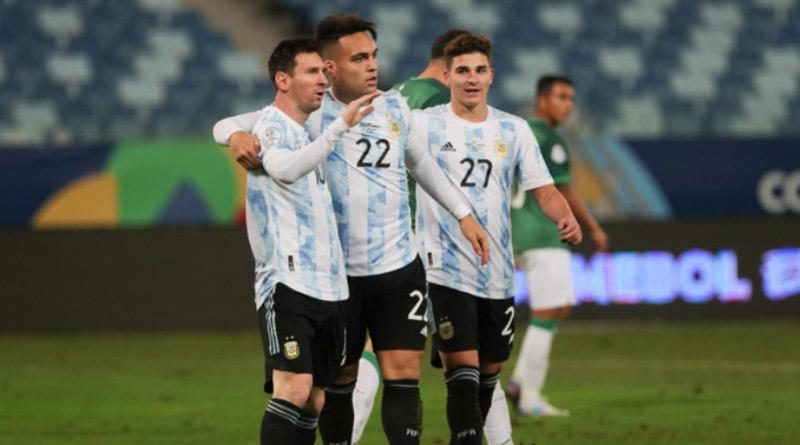 Lionel Messi Scores Brace After Breaking Argentina's Appearance Record vs Bolivia in Copa America 2021 Game | Sangbad Pratidin
