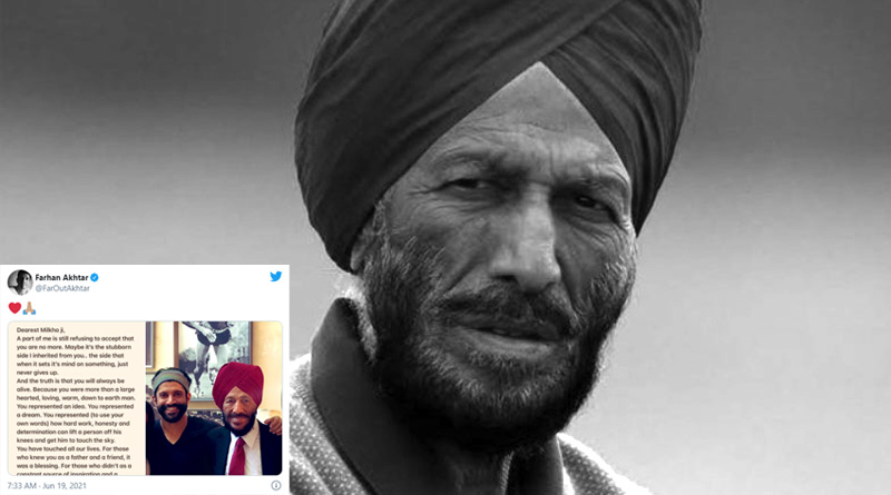 Every Indian including celebrities express solidarity on sad demise of 'The Flying Sikh' Milkha Singh | Sangbad Pratidin