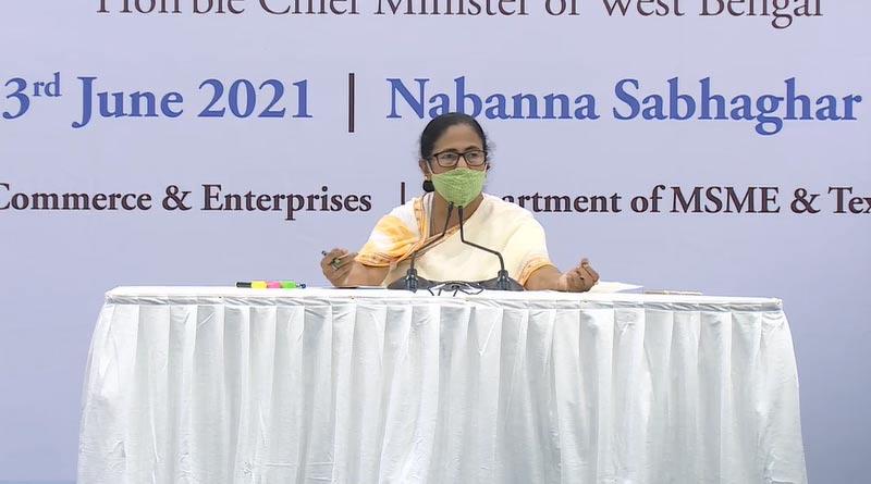 CM Mamata Banerjee stresses on vaccine drive during talks with trading community | Sangbad Pratidin