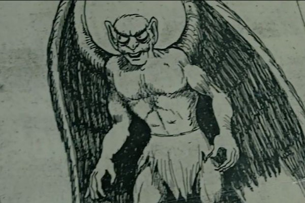 Mothman sketch