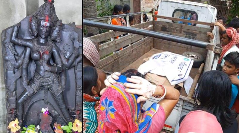 Purba Bardhaman family hands over mystery idol to museum | Sangbad Pratidin
