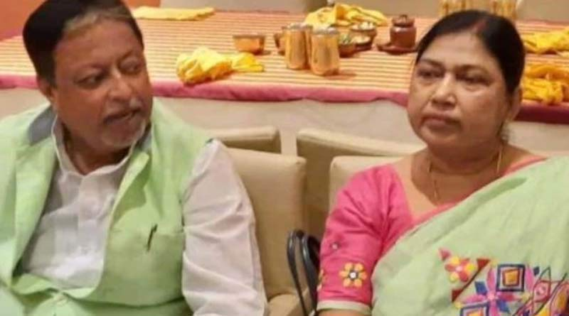 Wife of TMC leader Mukul Roy, Krishna Roy is not taken to Chennai due to bad weather | Sangbad Pratidin