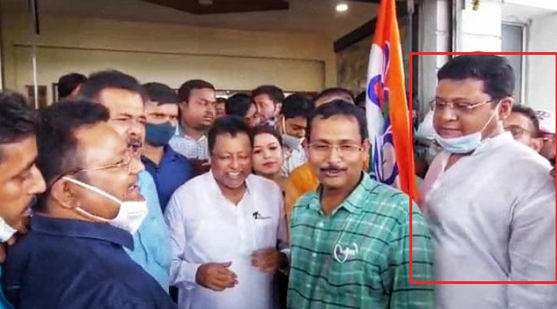 Election Agent of Mukul Roy joins TMC leaving BJP in Nadia | Sangbad Pratidin