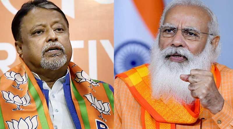PM Narendra Modi calls up BJP leader Mukul Roy over his wife's health   Sangbad Pratidin