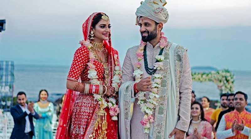 Row over Nursat Jahan's husband Nikhil Jain's instagram Post ।Sangbad Pratidin