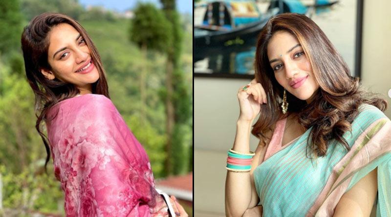 Bengali actress Nusrat Jahan shows her baby bump on Instagram | Sangbad Pratidin