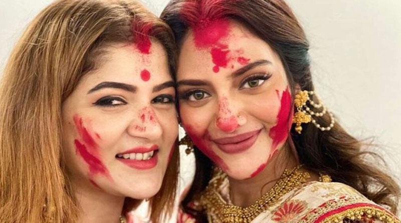 Srabanti Chatterjee comments on nusrat jahan instagram post goes viral | Sangbad Pratidin