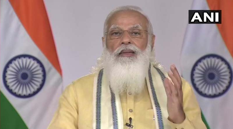 PM Modi says 80 crore poor will be provided free ration । Sangbad Pratidin