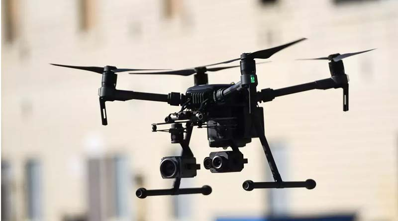 Suspected drone movements reported at four places in Bari Brahmana area of Samba in J&K | Sangbad Pratidin