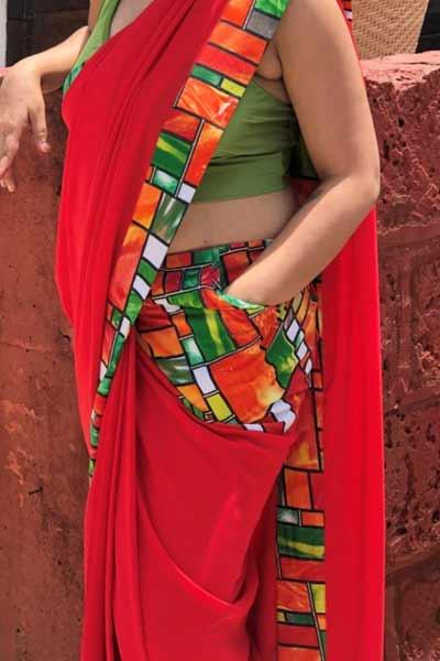 Pocket-in-Saree