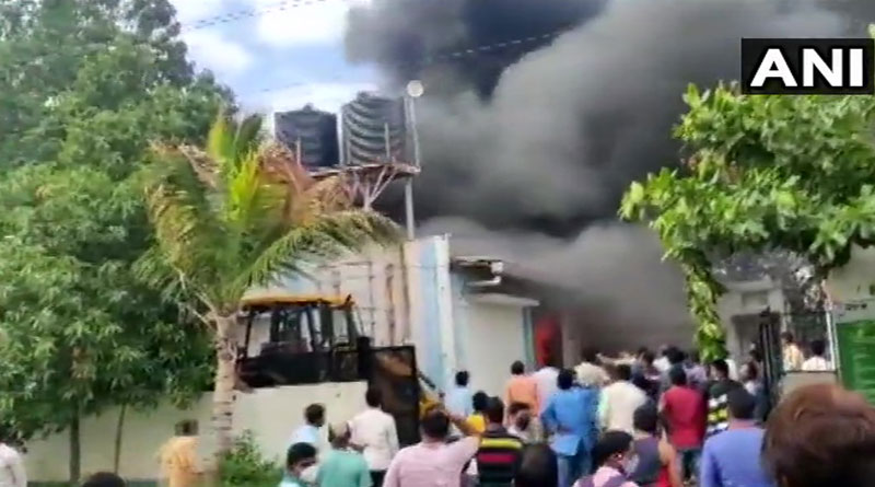 14 dead and 17 missing in massive fire incident at a company in Ghotawade Phata, Pune | Sangbad Pratidin