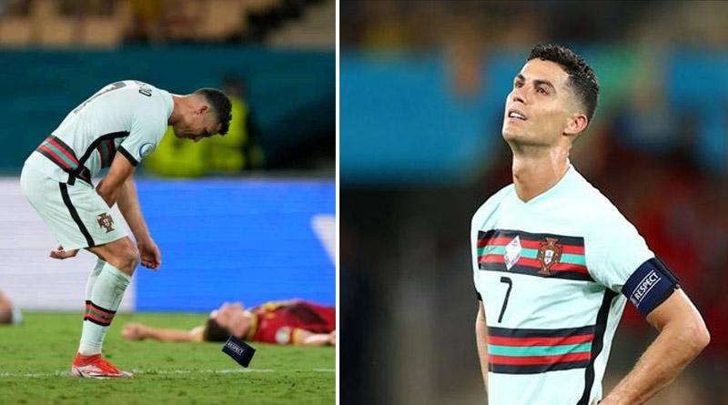 Euro 2020: Fans fume as Cristiano Ronaldo throws down Portugal armband after Belgium match | Sangbad Pratidin
