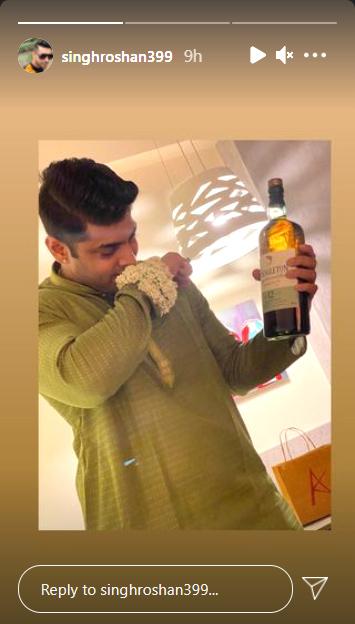 Roshan Singh Instagram post