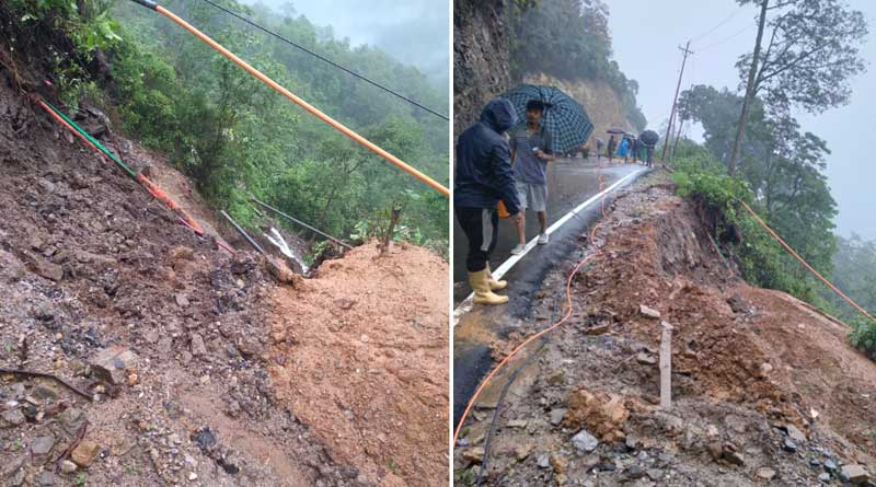 Two labourers died of landslide at tunnel near Kalimpong | Sangbad Pratidin