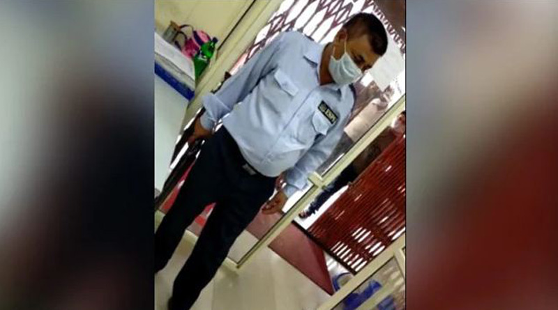 UP man shot inside bank by security guard over 'face mask' | Sangbad Pratidin